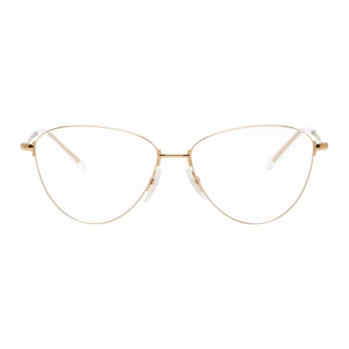 gold-bb0034o-glasses by balenciaga