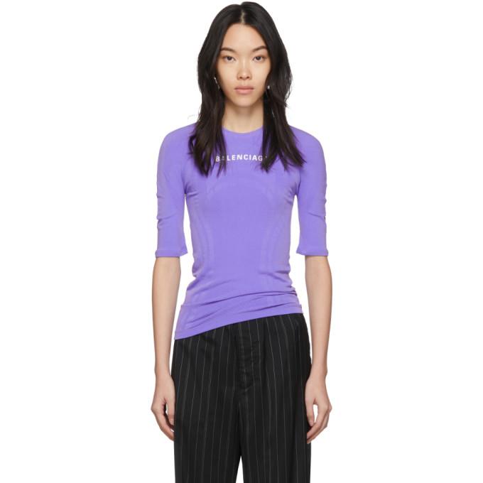 purple-athletic-t-shirt by balenciaga