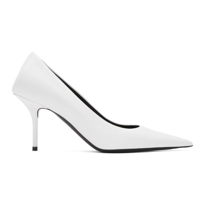 white-square-knife-heels by balenciaga