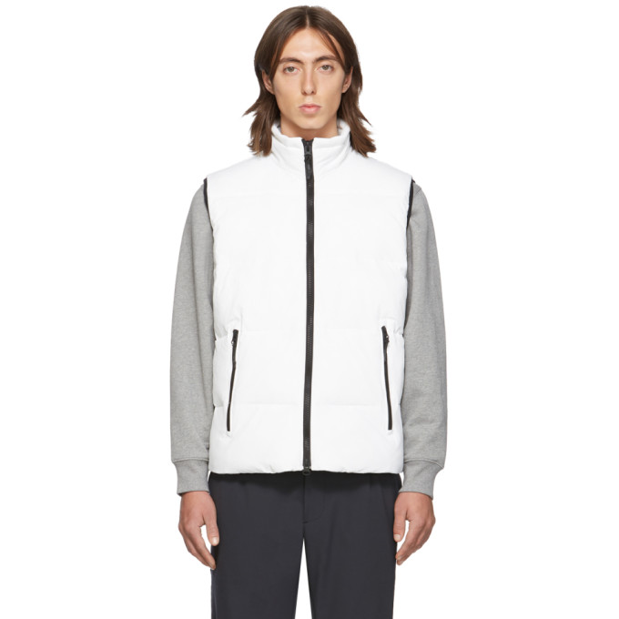 Ssense Exclusive White Quilted Vest by The Very Warm