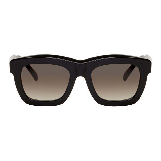 Black C2 Bs Sunglasses by Kuboraum