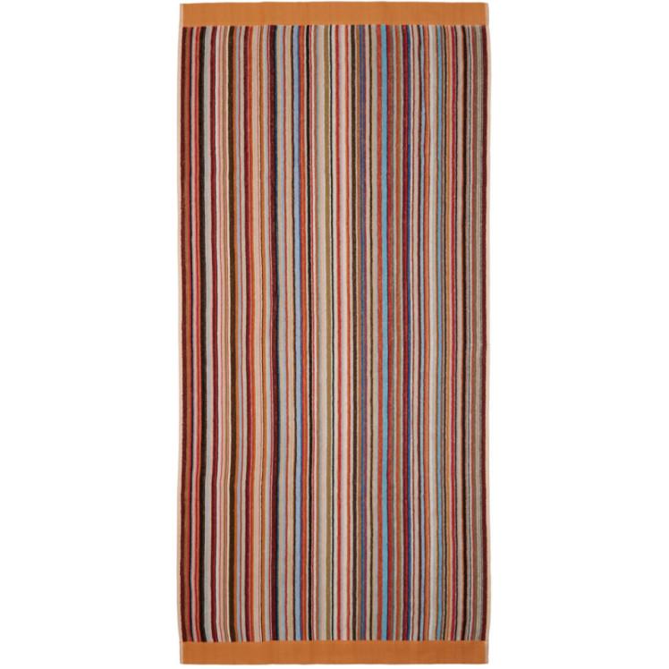 Multicolor Stripe Beach Towel by Paul Smith