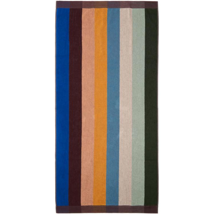 Multicolor Artist Stripe Beach Towel by Paul Smith