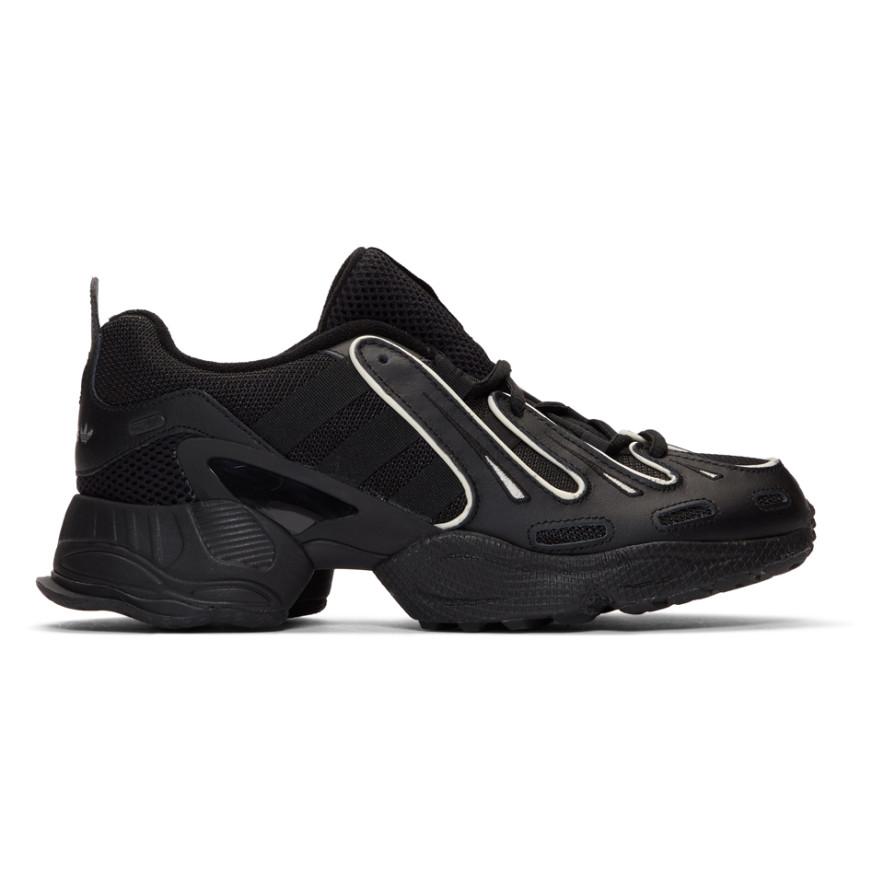 Black E G Sneakers by Adidas Originals