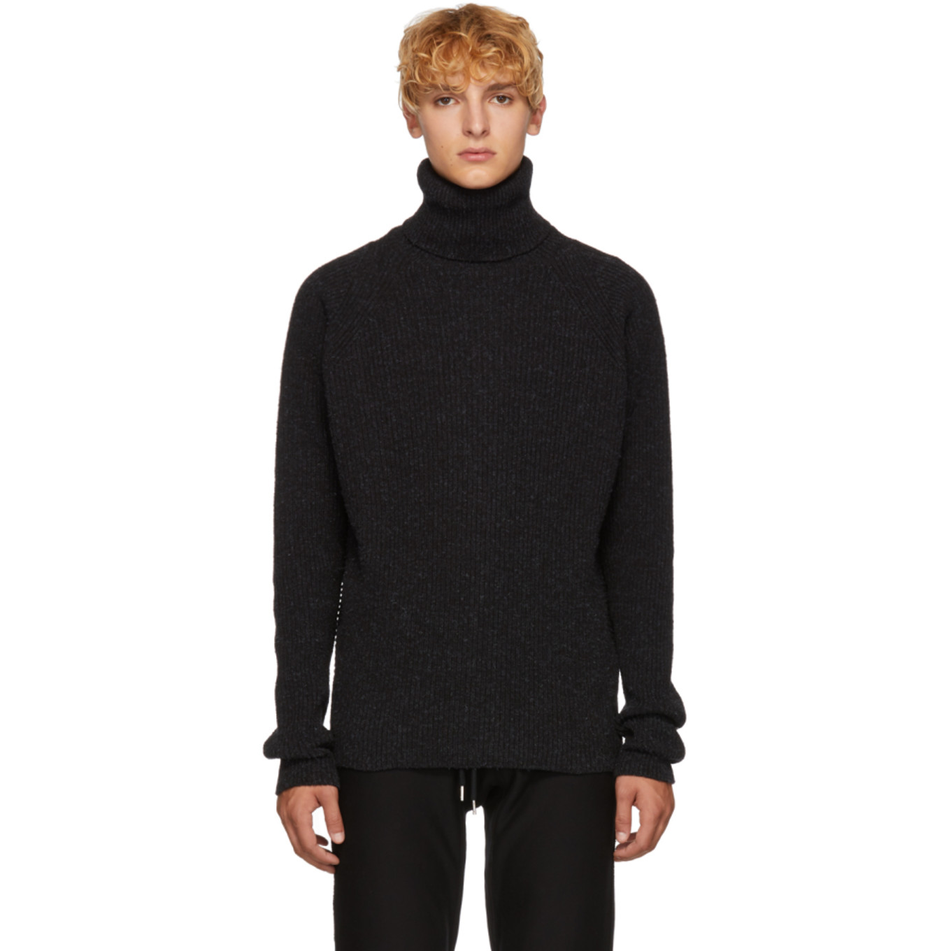 Black Merichan Turtleneck by Jan Jan Van Essche