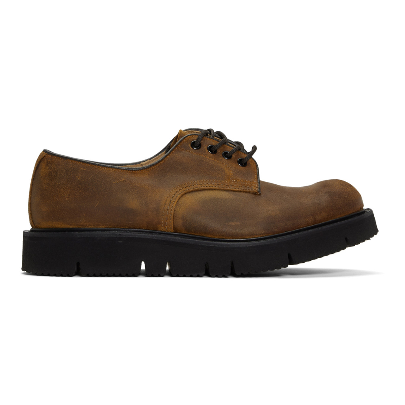 Brown Tricker's Edition Waxy Commander Tramping Derbys by Comme Des GarÇons Homme
