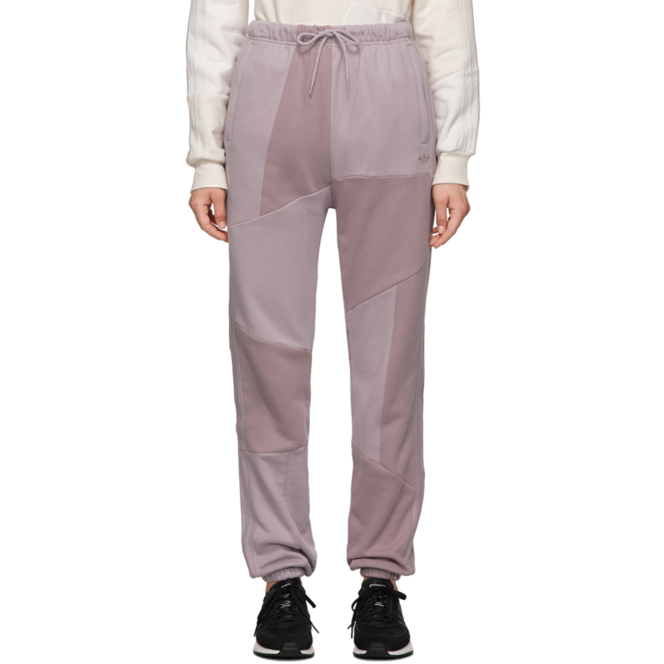 Purple Dc Lounge Pants by Adidas Originals By DaniËlle Cathari