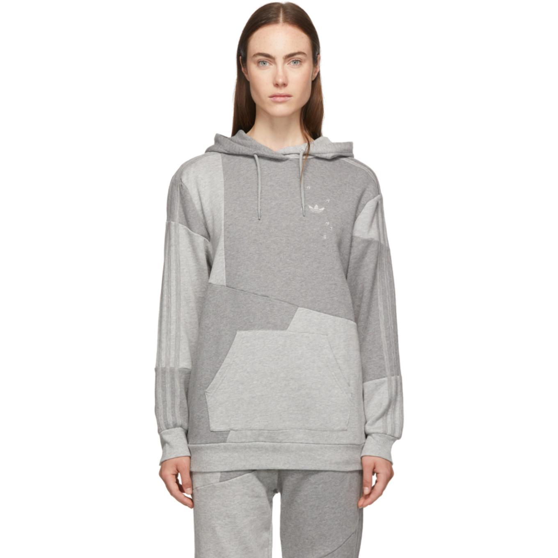 Grey Dc Hoodie by Adidas Originals By DaniËlle Cathari