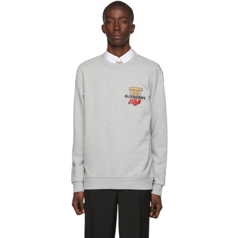 Grey Coldwell Sweatshirt by Burberry