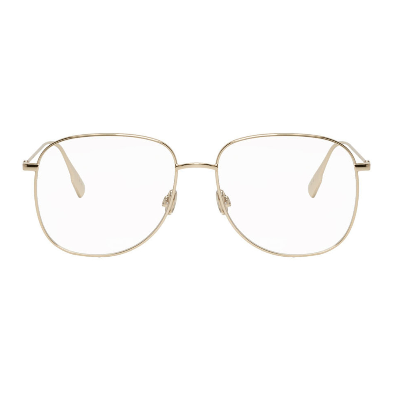 Gold Dior Stellaire8 Glasses by Dior