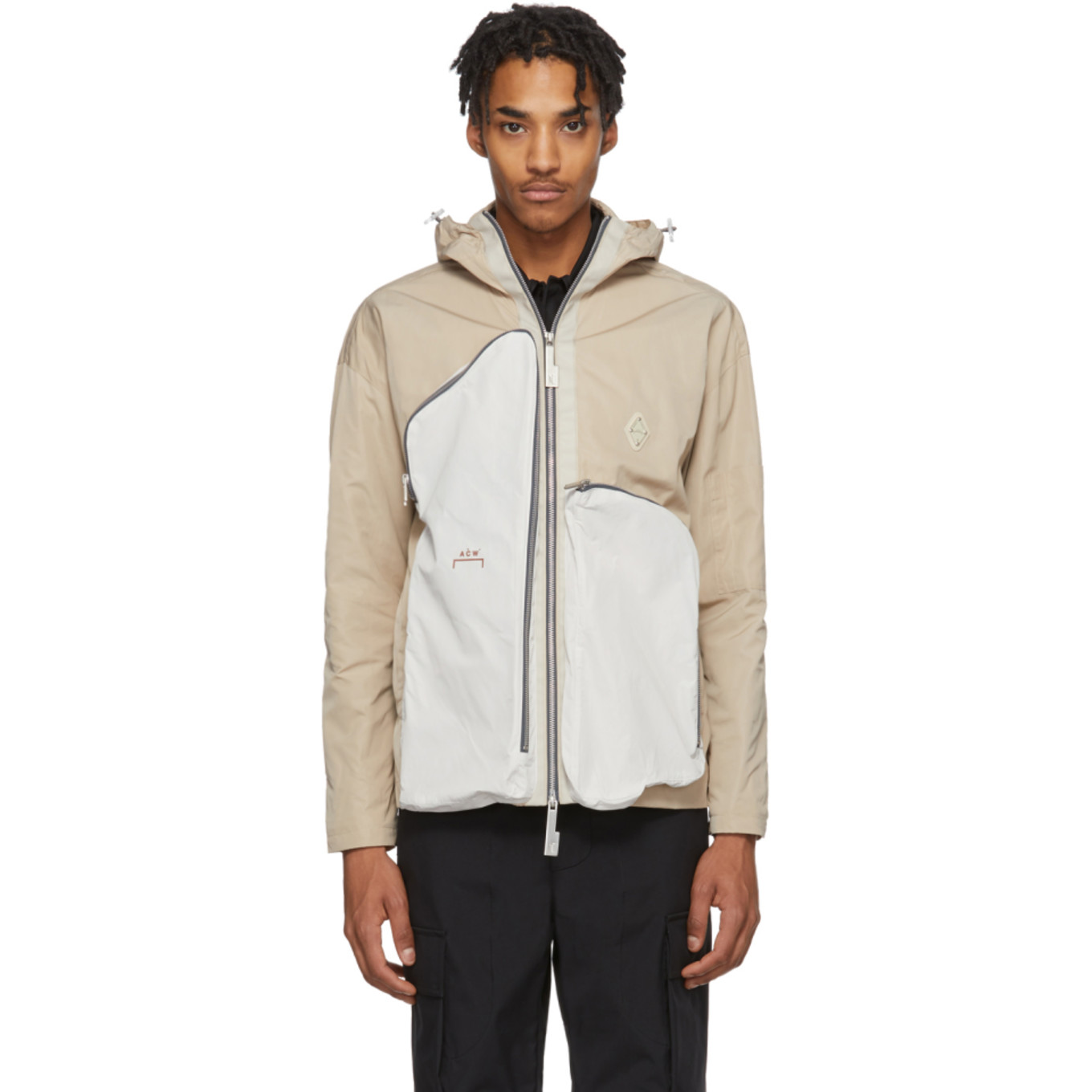 Beige Passage Jacket by A Cold Wall*