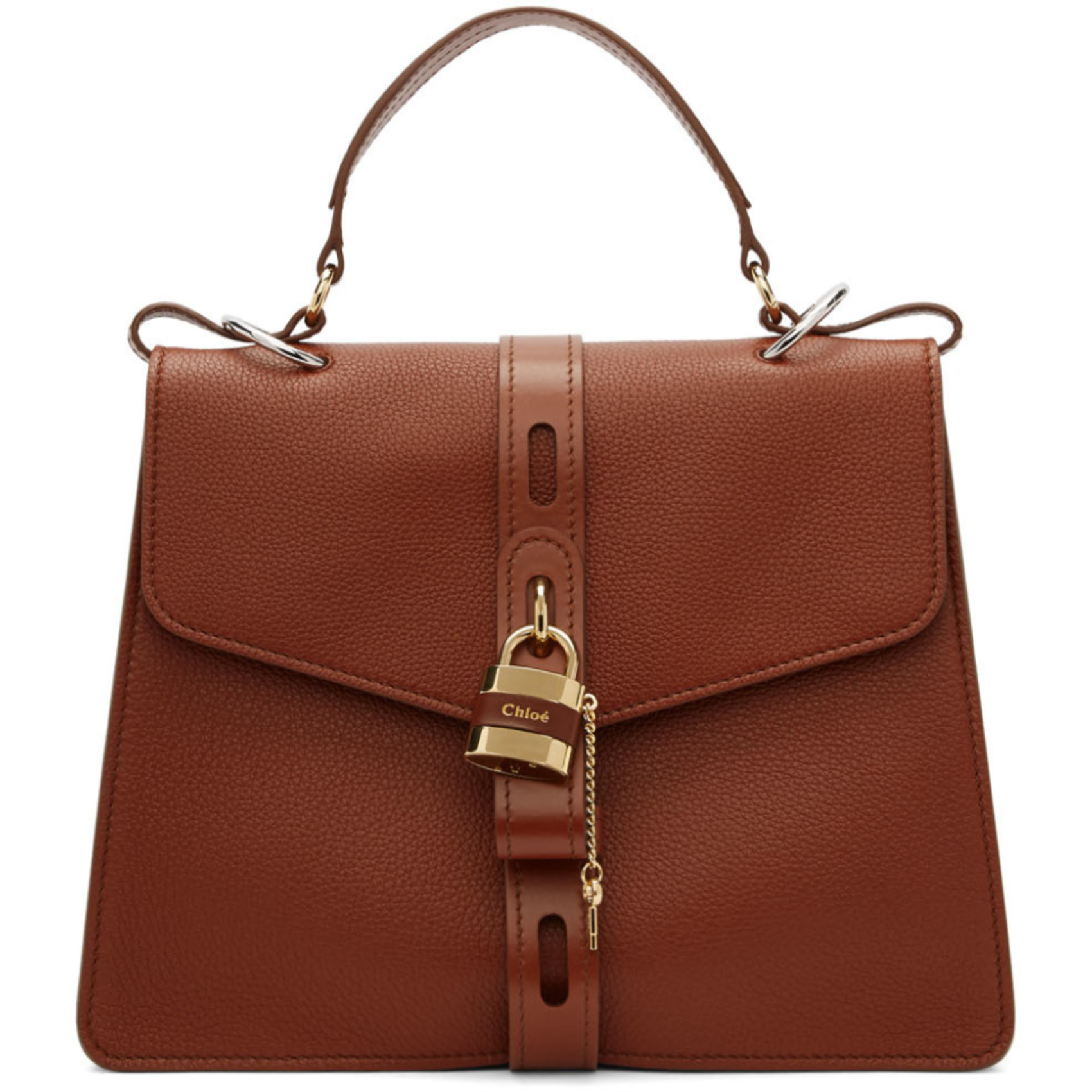 Brown Large Day Briefcase by ChloÉ