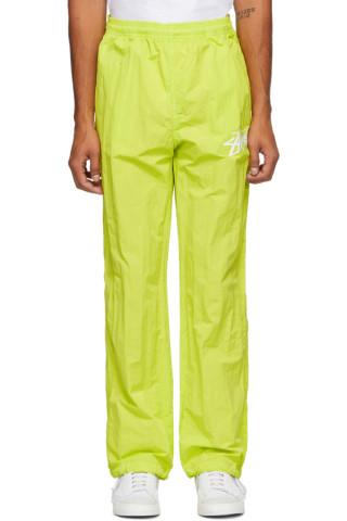 나이키 x 스투시 트랙 팬츠 Nike Green Stussy Edition NRG Beach Track Pants,Bright cactus