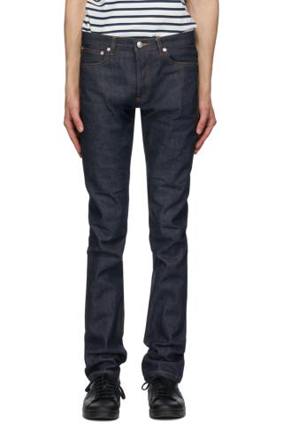 아페쎄 쁘띠 스탠다드 진 - 인디고 생지 데님 A.P.C. Blue Petit Standard Jeans
