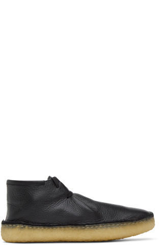 르메르 데저트 부츠 Lemaire Black Laced Desert Boots,Black