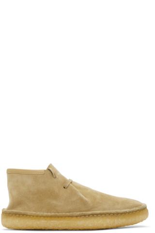 르메르 데저트 부츠 Lemaire Beige Laced Desert Boots,Beige