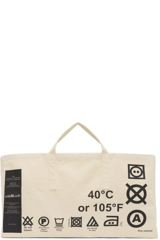 Rokh Off-White Special Project Tote,Natural