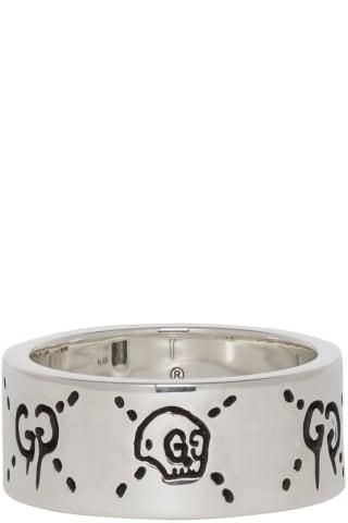 구찌 고스트링 GucciGhost Ring Silver