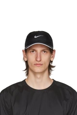 Nike Black Featherlight Running Cap