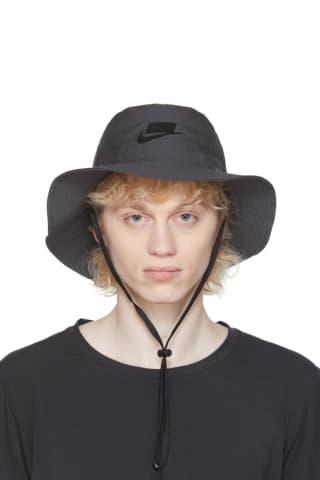 Nike Grey Sportswear Bucket Hat