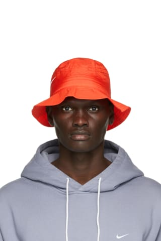 Nike Red Stuessy Edition Bucket Hat