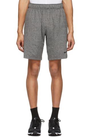 Nike Grey & Black Training Shorts