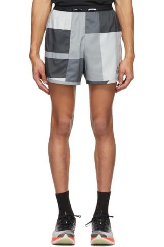 Nike Grey Flex Stride Wild Run Shorts