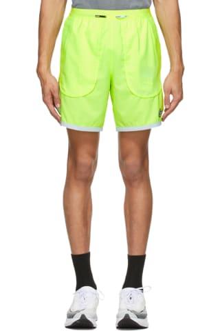 Nike Green Flex Stride Wild Run Shorts
