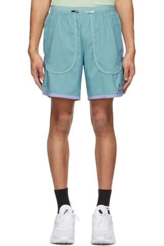 Nike Blue Flex Stride Wild Run Shorts