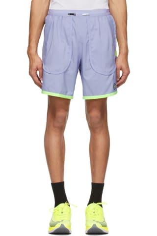 Nike Purple Flex Stride Wild Run Shorts