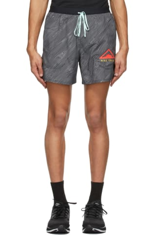 Nike Black Flex Stride Trail Shorts