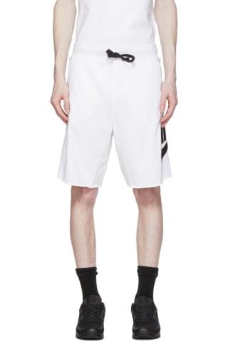Nike White Sportswear Shorts