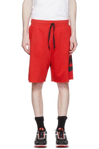 Nike Red Sportswear Shorts
