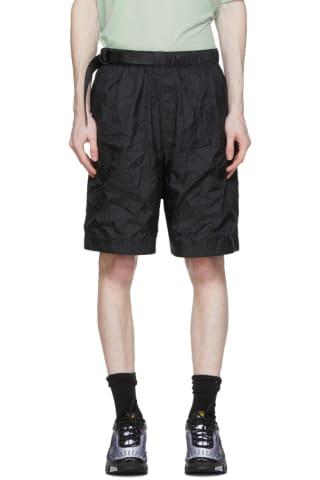 Nike Black Sportswear Tech Pack Shorts