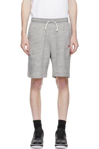 Nike Grey Sportswear Heritage Shorts