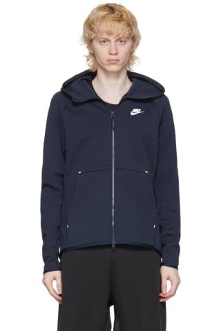Nike Navy Sportswear Tech Hoodie