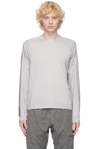 Nike Purple Ultra Light Long Sleeve T-Shirt