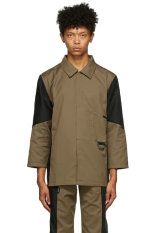Affix Tan & Black Duo-Tone Work Shirt