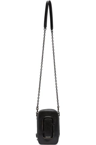 Marc Jacobs Black The Hot Shot Shoulder Bag