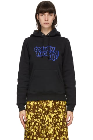 Black Heaven by Marc Jacobs Fucked Up Hoodie