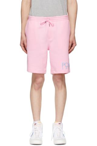 Polo Ralph Lauren Pink Fleece Logo Shorts