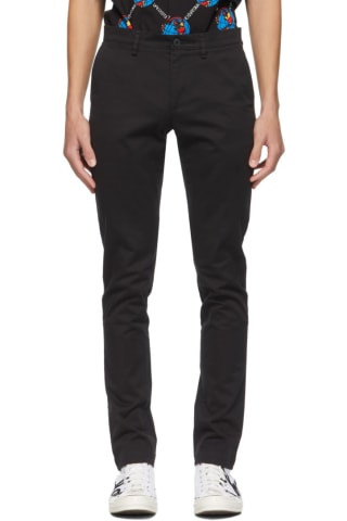 Lacoste Black Chino Trousers