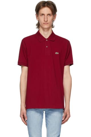 Lacoste Burgundy L.12.12 Polo
