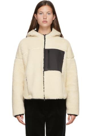 3.1필립림 셰르파 자켓 - 아이보리 3.1 PHILLIP LIM Sherpa Bonded Sporty Jacket