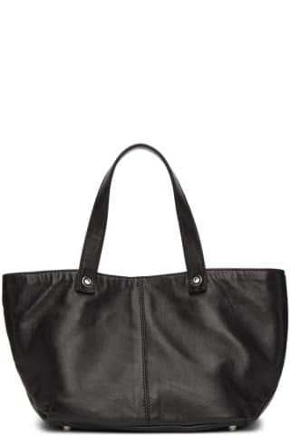 Ludovic de Saint Sernin Black Leather Purssy Tote