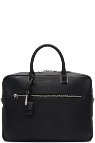 생 로랑 삭 드 주르 서류가방 Saint Laurent Black Sac De Jour Briefcase