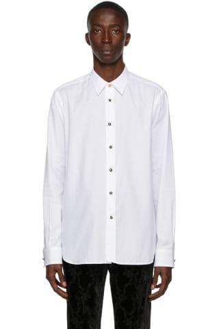 [폴 스미스 50주년] 테일러 셔츠 Paul Smith 50th Anniversary White Apple Tailored Shirt
