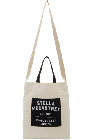 스텔라 맥카트니 Stella McCartney Beige Medium Old Bond Street Tote Bag,Sand