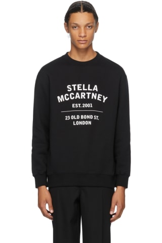 Stella McCartney Black 23 Old Bond Street Sweatshirt