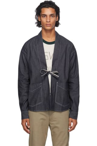 Visvim Blue Denim Lhamo Shirt